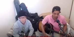 youtubeで歌を歌う解散していない虹色侍