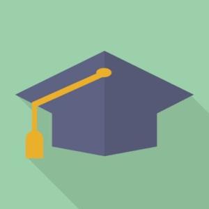 大学卒業の帽子