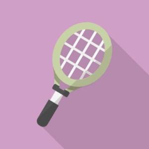 田村有樹子の学生時代のテニス