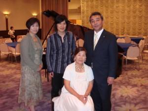 清塚信也の母親の画像