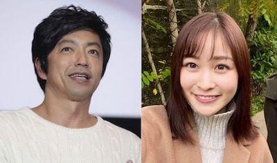 岩田絵里奈アナと大沢たかお