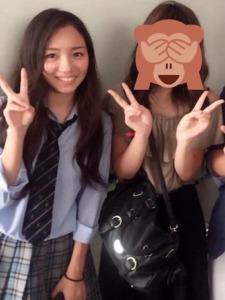 日向坂46・斎藤京子のかわいい高校の制服姿