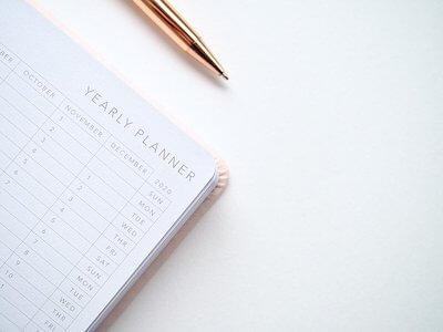 再販予定を書くカレンダー